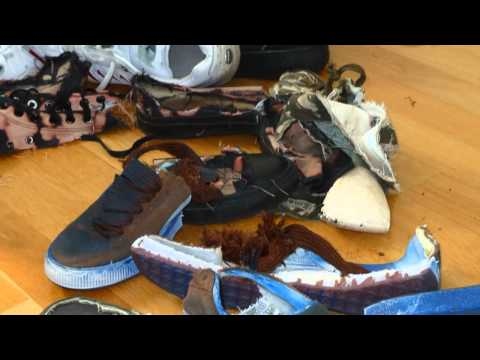 Sneaker Abuse September 2012 - wet, messy & wrecked sneakers