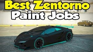 "GTA 5 Online - Best ""Pegassi Zentorno"" Paint Jobs! [Touch Up Tuesday]"