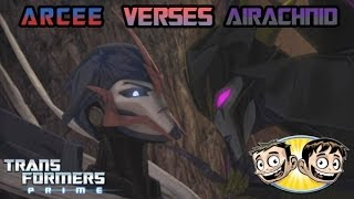 getlinkyoutube.com-Transformers Prime: The Game - Arcee Vs. Airachnid - BroBrahs