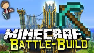 getlinkyoutube.com-Minecraft: BATTLE BUILD #1 w/Bajan Canadian, MrWoofless, LogDotZip & PeteZahHutt!