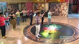 getlinkyoutube.com-الطلاب في رقصة فالس مع هادي عواضة - ستار اكاديمي 10 - Valse Dance Hady Awada