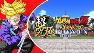 getlinkyoutube.com-Dragon Ball Z Extreme Butoden | SSJ Future Trunks Gameplay!