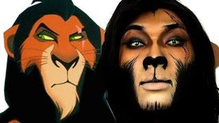 getlinkyoutube.com-Scar Lion King Halloween Makeup Tutorial   ThePrinceOfVanity