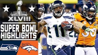 getlinkyoutube.com-Super Bowl XLVIII: Seahawks vs. Broncos highlights