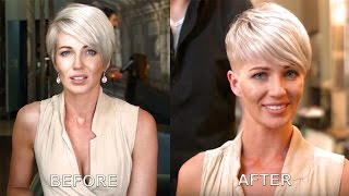getlinkyoutube.com-Another incredible Pixie Cut on CJ I By Adam Ciaccia