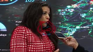 """""""هالة عرنده"""" تتحدث عن مشاركة """"هواوي"""" بمعرض CAIRO ICT"""