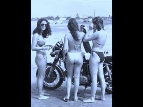 ANOS 70 - MULHERES & MOTOS CLÁSSICAS  BRASIL