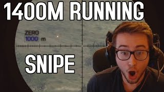 getlinkyoutube.com-1400M RUNNING SNIPE - Battlefield 4
