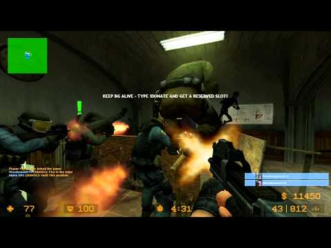 Counter Strike Source Zombie Escape Resident Evil 2 RPD HD