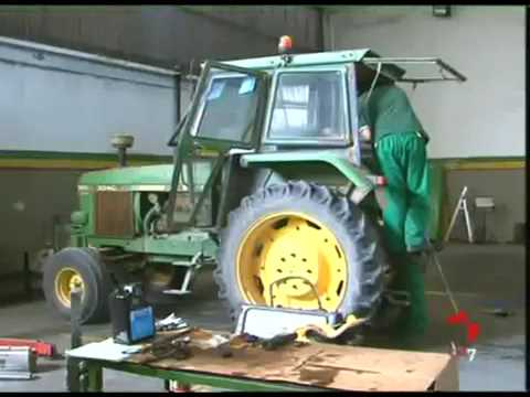 Descenso en la venta de maquinaria agrícola