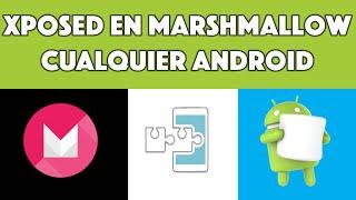 getlinkyoutube.com-Como Instalar Xposed en MarshMallow 6.0.1 | Cualquier Android