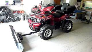 getlinkyoutube.com-gratte vtt---atv snow plow----kawasaki.MTS