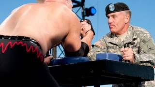 getlinkyoutube.com-Tribute to the Troops: Arm wrestling contest
