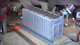 getlinkyoutube.com-Vectrix Upgrade: Battery Pack Assembly