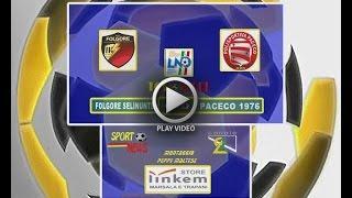 1° TEMPO FOLGORE SELINUNTE  -  PACECO 1976  0  - 0