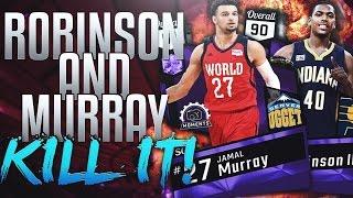 getlinkyoutube.com-NBA 2K17 MYTEAM AMETHYST GLEN ROBINSON III & JAMAL MURRAY! OP AS $&*@