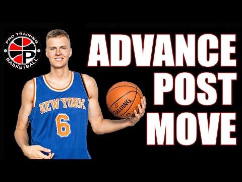 Kristaps Porzingis Dream Shake   Advance Post Move   Pro Training Basketball