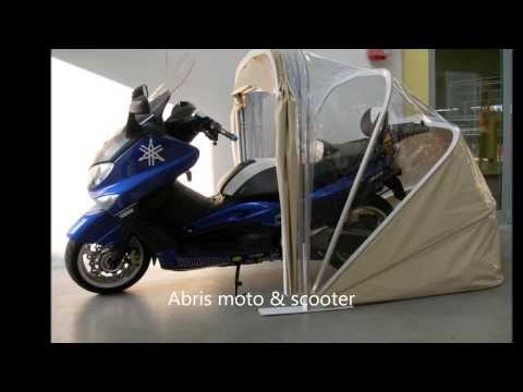 Abri protection  moto scooter multi usages abris karacol S