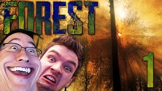 getlinkyoutube.com-DUMB AND DUMBER | The Forest COOP w/ JackSepticEye - Part 1