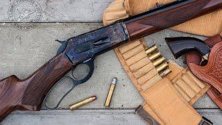 getlinkyoutube.com-Shooting the new Pedersoli 45/70 1886 sporting rifle