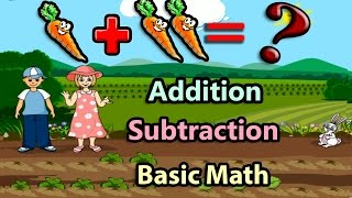 getlinkyoutube.com-Basic Math For Kids: Addition and Subtraction, Science games, Preschool and Kindergarten Activities