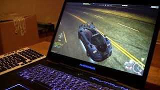 getlinkyoutube.com-My gaming setup Alienware M17x R3 laptop specs