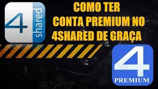 getlinkyoutube.com-Como ter conta Premium no 4Shared de Graça - 2015