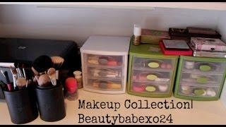 getlinkyoutube.com-Makeup Collection | Beautybabexo24