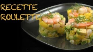 getlinkyoutube.com-Tartare crevettes, mangue et avocat !