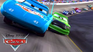 getlinkyoutube.com-CARS - THE KING DINOCO PISTON CUP - EL REY - O REI - SPECIAL VIDEO FOR MY +6300 SUBS