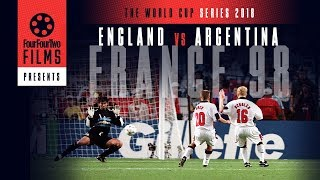 Argentina 2-2 England 1998 documentary trailer | The Game | World Cup Series