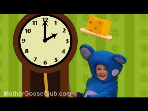 Hickory Dickory Dock - Mother Goose Club Nursery Rhymes