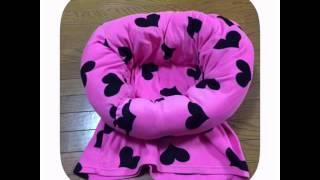 getlinkyoutube.com-着なくなった長袖で作る!簡単!猫ベットの作り方
