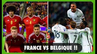 France vs Belgique , Quelle Strategies ? Qui sera le vainqueur ? Les experts parlent