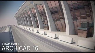 Classics modeled with ArchiCAD - Dulles International Ai... view on rutube.ru tube online.