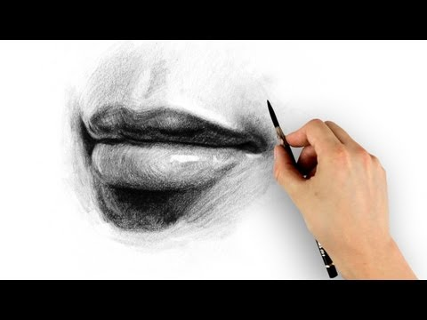 How to Draw Lips - Step by Step -N0vWyKyYv4o