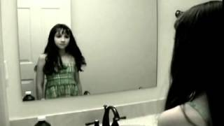 Hororr video onYouTube  Ghost Girl in the Mirror!