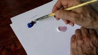 cours de peinture comment faire du violet youtube - Quelle Couleur Melanger Pour Obtenir Du Violet