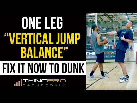 How to: Jump Higher and Dunk off ONE LEG by FIXING