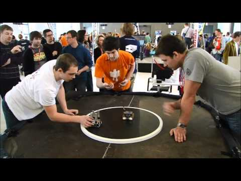 Robot Challenge 2011 Wien Mini Sumo Łowca / Hunter Intermediate Round