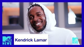 Kendrick Lamar on the Duality of 'DAMN.' & His 2017 VMA Performance | MTV News