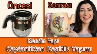 getlinkyoutube.com-Çaydanlıktan Kaşıklık Yapımı