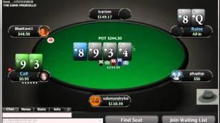 getlinkyoutube.com-Viktor Blom alias Isildur1 plays low stakes , MANIAC STYLE