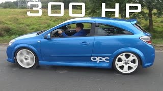 Opel Astra H OPC - Sound / Acceleration / Onboard Autobahn / Top Speed / 0-250 Km/h