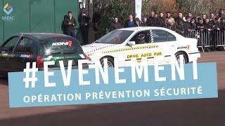 Opération prévention sécurité au GARAC avec KONI et ACTIA