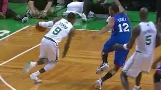 getlinkyoutube.com-Rajon Rondo 14 points,20 assists vs Philadelphia 76ers 2012/2013 - Highlights