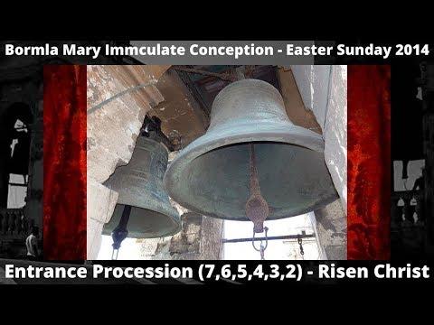 Bormla (Malta) Collegiate Church Mary Immaculate Conception - Procession PEAL - 2014 6 Bells Item 3