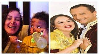 getlinkyoutube.com-صور الممثلة المحبوبة سناء عكرود مع زوجها الممثل محمد المروازي و أبنائها