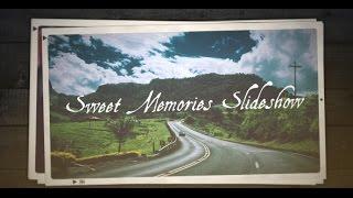 getlinkyoutube.com-FREE After Effects CS5 Template - Sweet Memories Slideshow