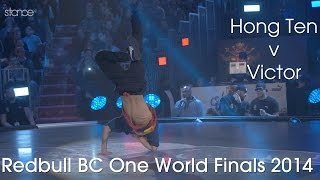 getlinkyoutube.com-Hong 10 vs Victor // .stance // Red Bull BC One World Finals 2014